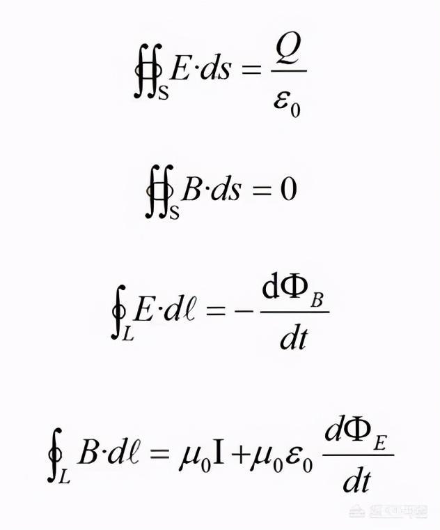 全面解析最美物理公式:麦克斯韦方程组