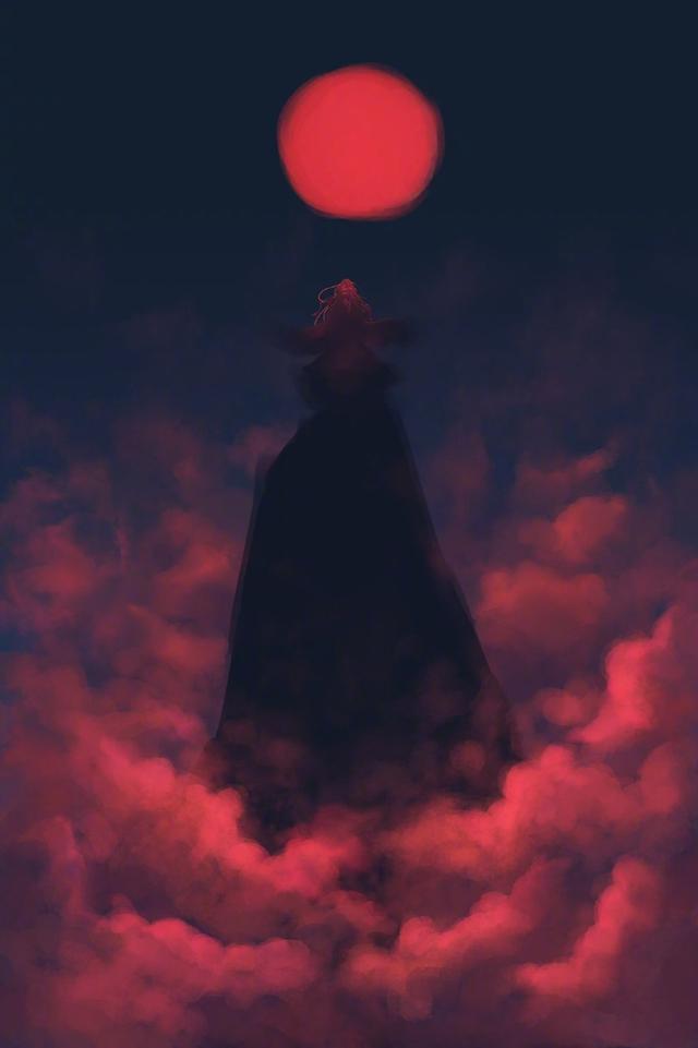 魔道祖师图片,魔道祖师意境光影壁纸,国风味十足的忘羡背景美图
