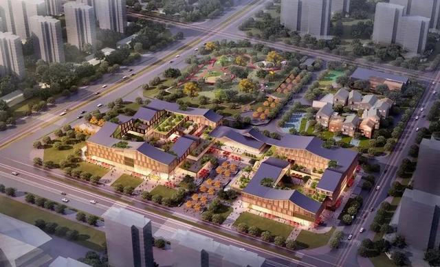 cpc中文印刷社区,铜陵西湖新区南片区综合邻里中心 / CPC建筑设计