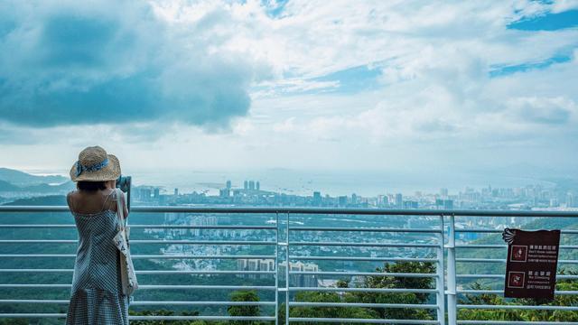 三亚景点门票,三亚有一座爱情圣山,俯瞰三亚城的最佳去处,国家4A景区门票106