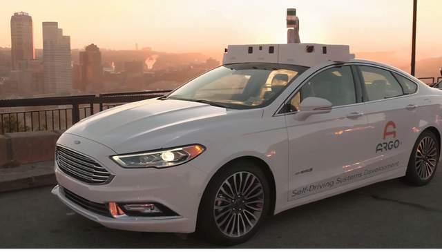福特使用Argo AI激光雷达传感器