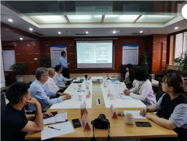 南充市侨联主席许琪一行到四川省技术创新促进会考察交流