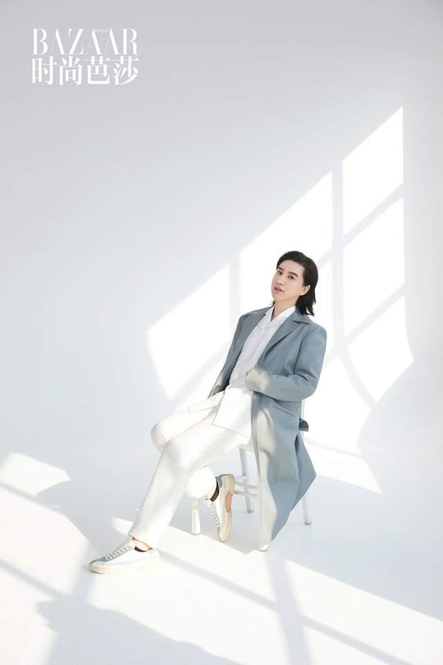 郑善方登上《时尚芭莎》杂志 活氣麗品牌明星企业家破圈时尚