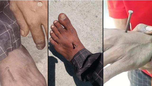 印度警察这么彪?拿钉子钉住男子手脚,只因为没戴口罩?