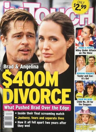 皮特朱莉离婚官司宣判!男方获得孩子共同扶养权 史密斯夫妇再也不存