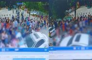 奔驰女司机校门前冲入人群致6伤 初步调查系由驾驶员操作不当造成