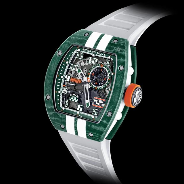 理查德·米勒出新款手表,土豪们准备好了么  第8张