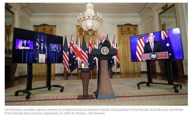 英美澳组团对抗中国搅黄法澳潜艇大单,法防长:考虑让澳大利亚赔钱