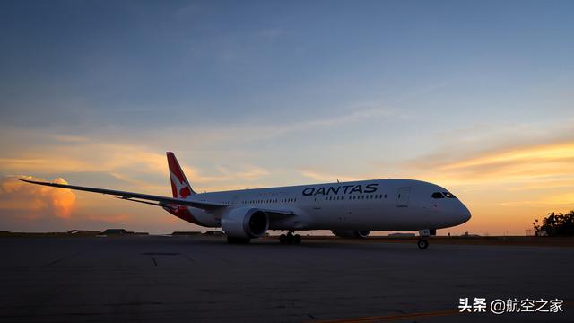 飞行18小时航程超1.4万公里:澳洲航空最长商业航班飞越南极上空