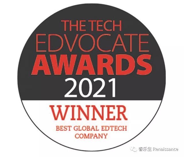 恭喜睿樂生榮獲Tech Edvocate四項大獎,myON、SR、AR入圍決賽圈
