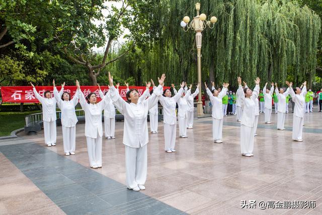 桥西协会祝贺建党百年运动精彩纷呈,展演各路中国名家太极功夫