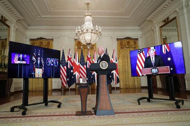 武装澳大利亚,拉拢英国,美国组建反华联盟,拜登寻求合作是幌子