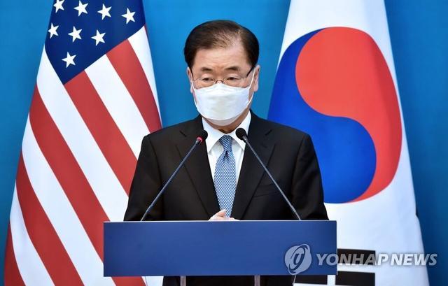 """韩美""""2+2""""会谈后,韩国表长:中美对韩都很主要,不克二选一"""