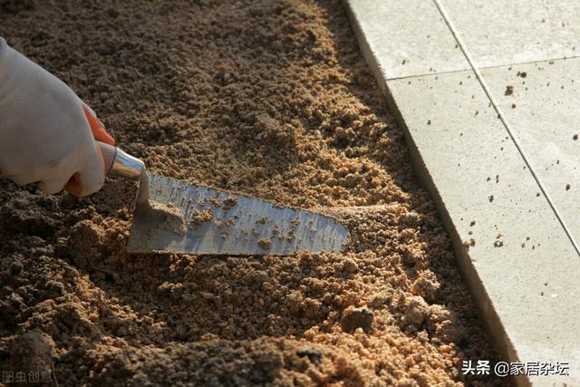 铺68㎡地砖,需要多少水泥和沙子?用量与什么有关?仔细什么?