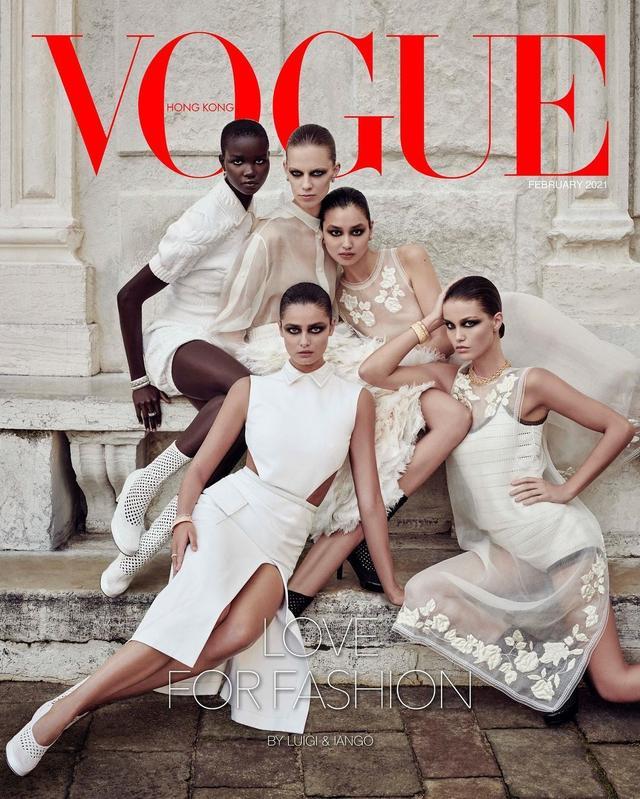 杂志封面设计欣赏!大美人儿