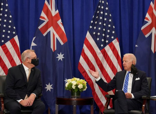 """蛇鼠一窝!澳大利亚跟随华盛顿""""起舞"""",称对解放军巡台深感担忧"""