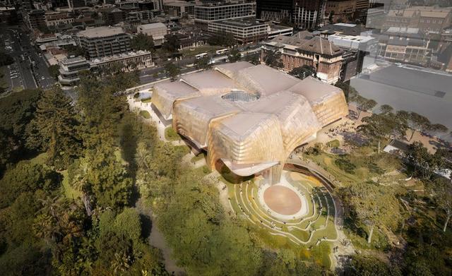 Woods Bagot 和 DS+R 为澳大利亚阿德莱德设计的土著艺术和文化中心