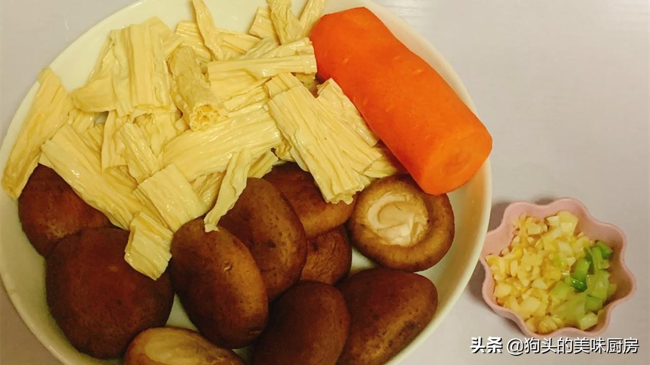 最近很火的腐竹做法,快手家常菜,下饭又营养,上桌比肉还受欢迎