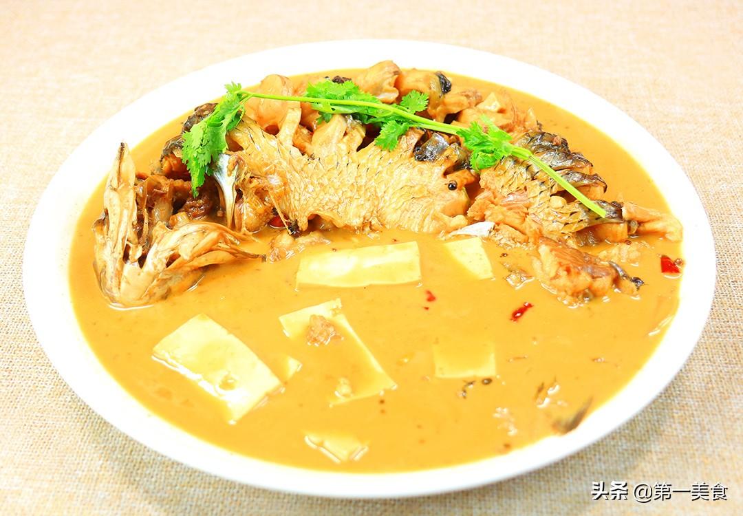 【豆腐炖鱼】做法步骤图 汤汁清淡 喝一次就忘不掉