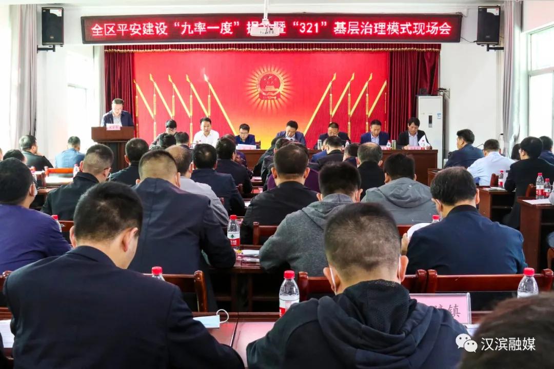 """汉滨区再部署平安建设""""九率一度""""提升暨""""321""""基层治理工作!"""