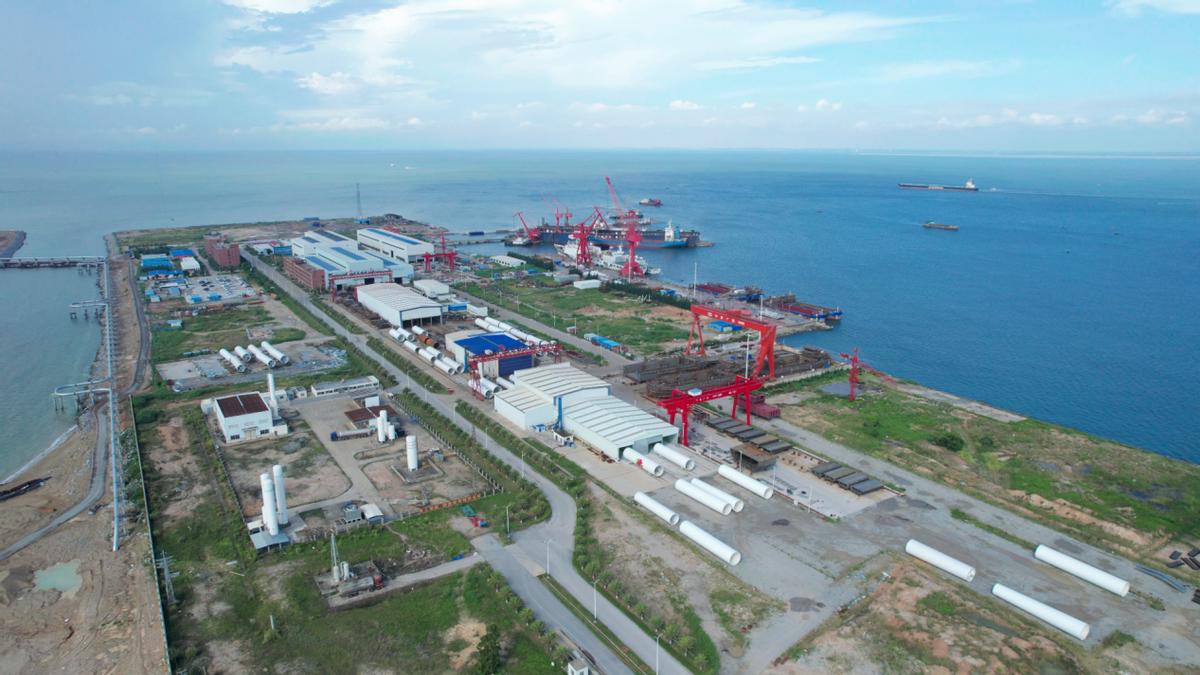 中船广西海上风电产业基地项目明年形成生产能力