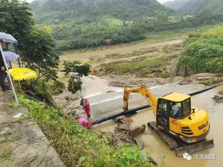 全力修复!汉滨加快水利设施重建进度