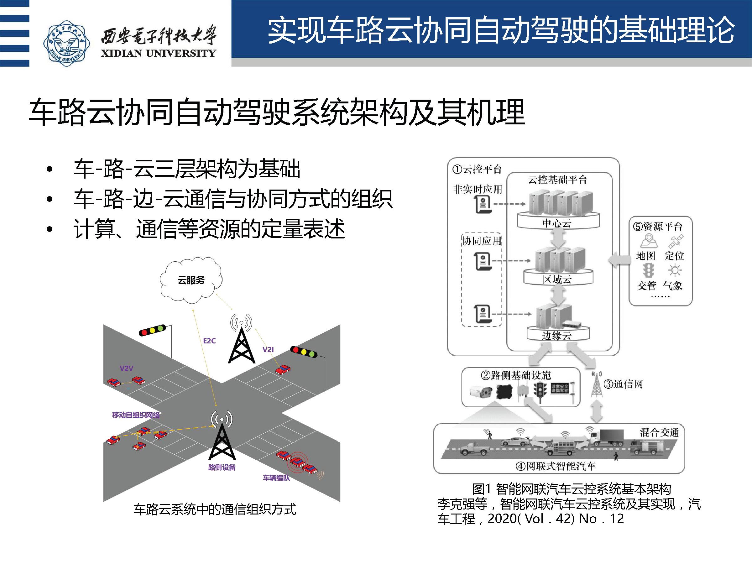 西安电子科技大学盛凯教授:车路云协同自动驾驶理论与关键技术