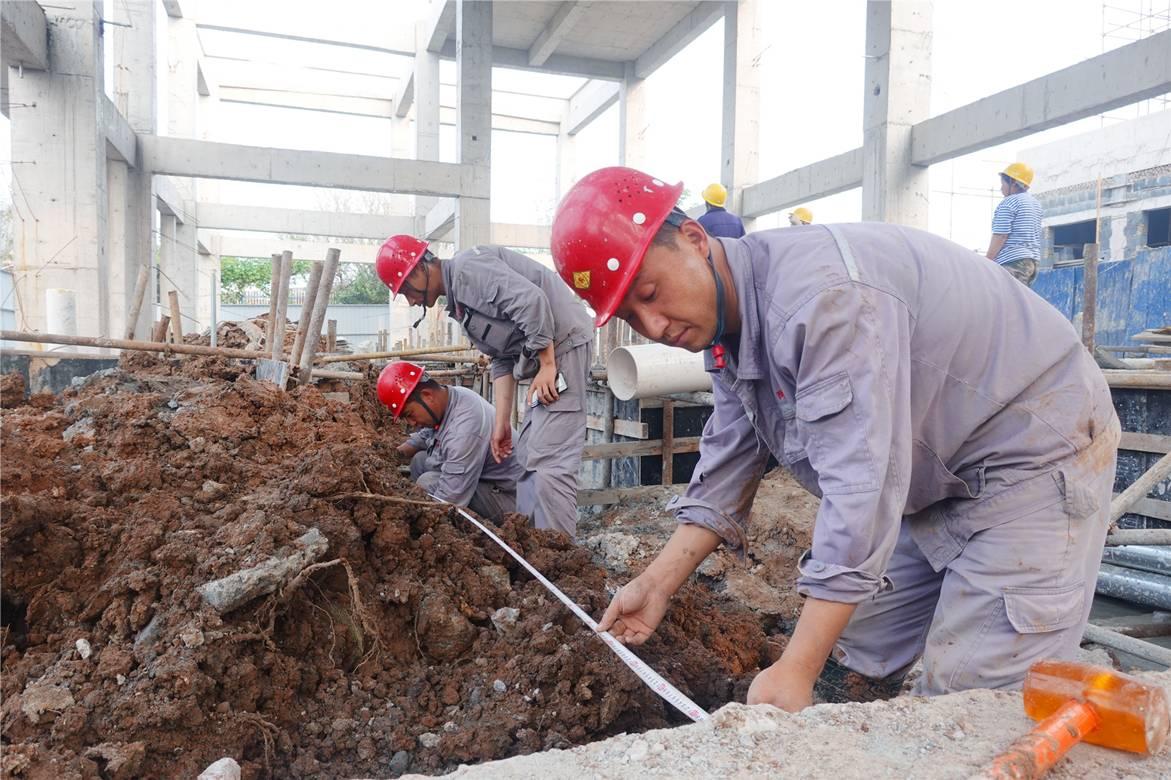 """國慶奮戰不停工 供水項目開足馬力""""加速度"""""""