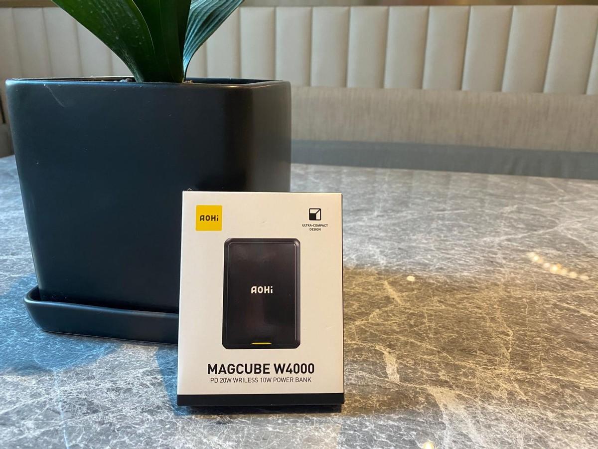 Aohi Magcube W4000磁吸充电宝,解决电量低下问题的不二法宝