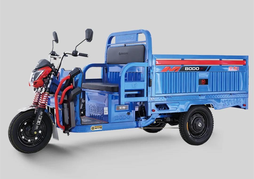宗申、宝岛发布新电动三轮车,载重大,动力足,主打货运