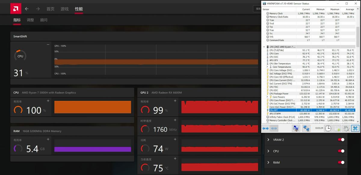 惠普暗影精灵7锐龙版实战测评,AMD双绝合体!畅快游戏无压力