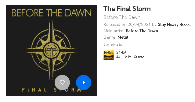 Before The Dawn - 《The Final Storm》2021单曲_Qobuz版[Hi-Res_24bit-44.1kHz FLAC]