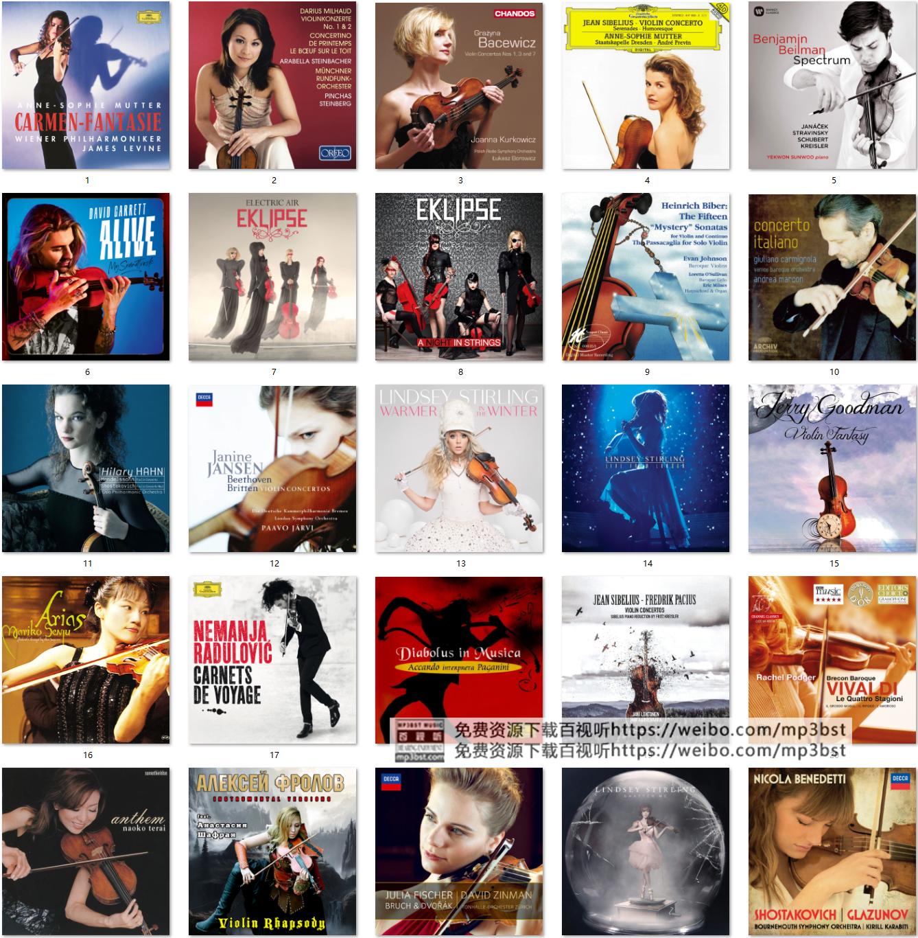 山泉从幽谷中蜿蜒而来_HiFi古典小提琴170张无损音乐合集
