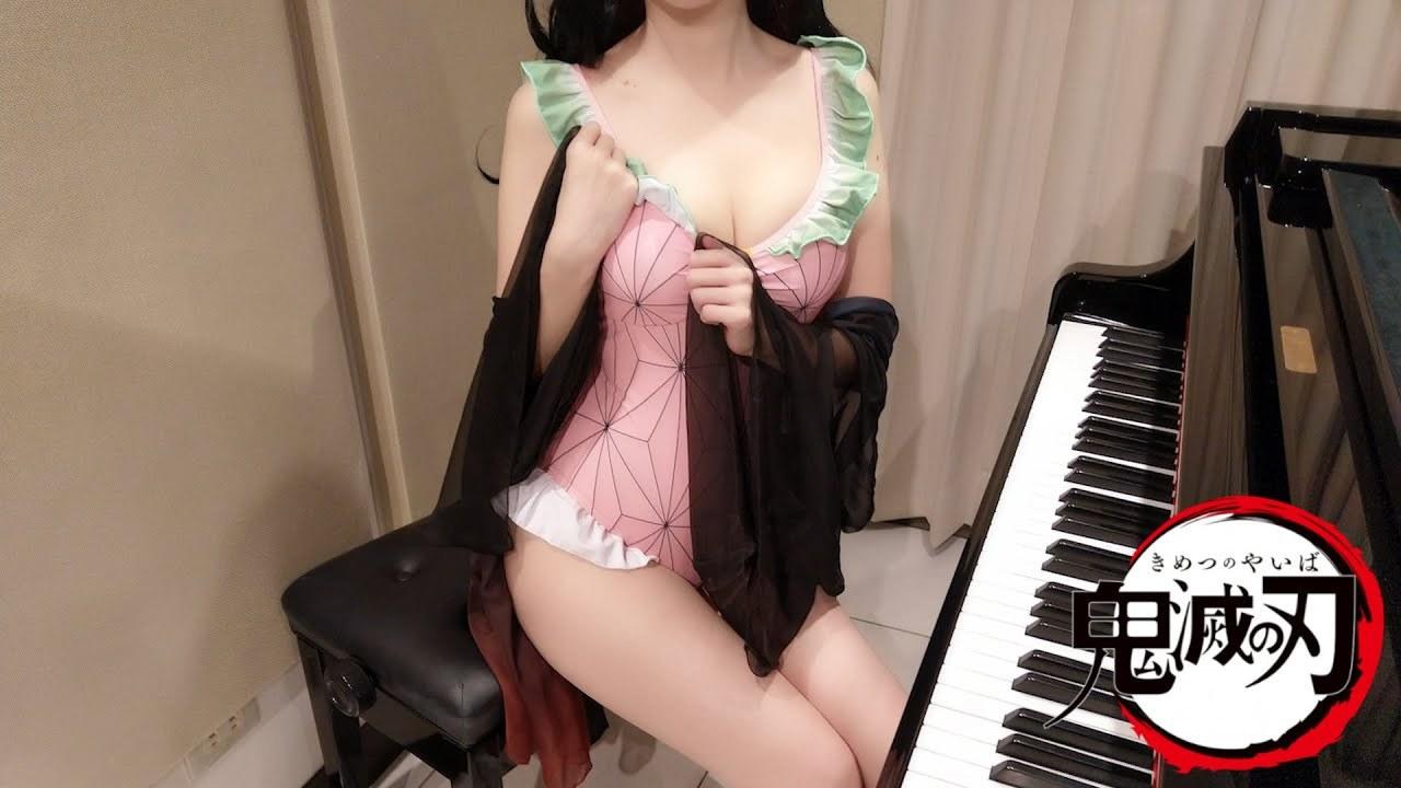 知名奏见 Pan Piano 弹琴视频合集 [141V/11.7G]