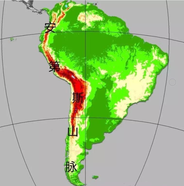 高中地理——每日讲1题(安第斯山脉、六大板块、巴西的气候)