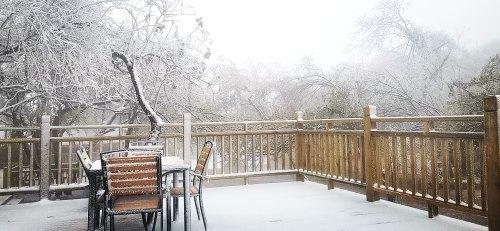"""汉中迎来入秋第一场雪,龙头山、紫柏山打开""""仙境""""模式"""