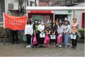 上海养老险开展重阳节志愿者活动