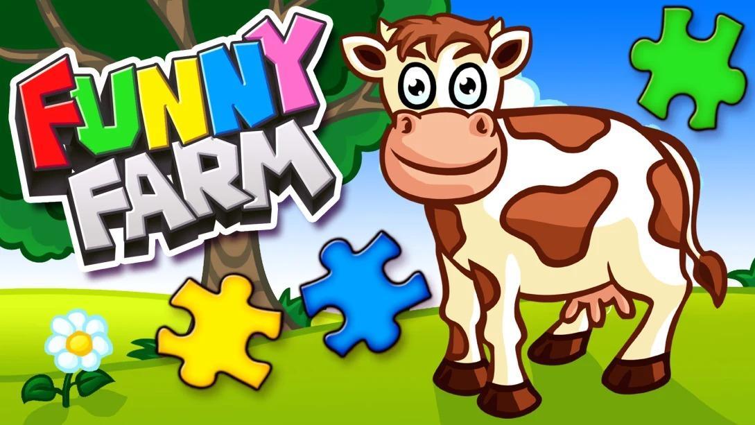 农场动物拼图(Funny Farm Animal Jigsaw Puzzle Game for Kids and Toddlers)插图5