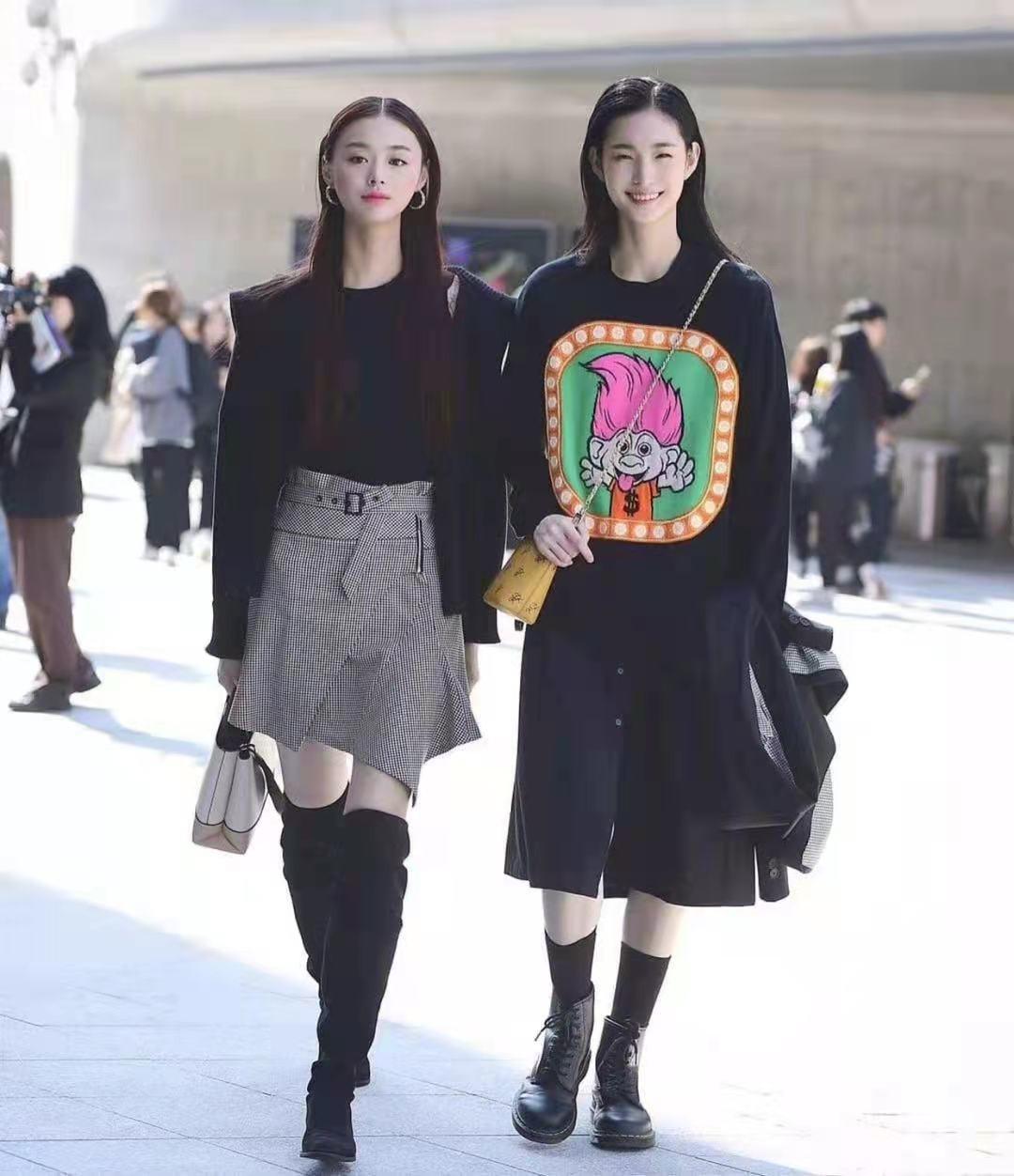 還是韓國街拍最自然,一點也不辣眼睛!穿搭簡約時尚值得借鏡 形象穿搭 第4張