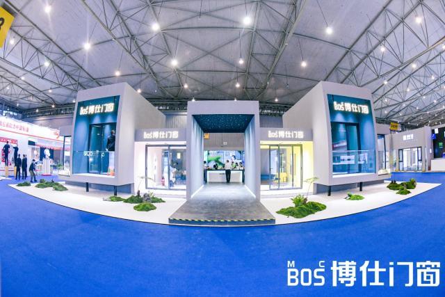 首届中国(成都)门窗博览会现场直击 博仕门窗展厅