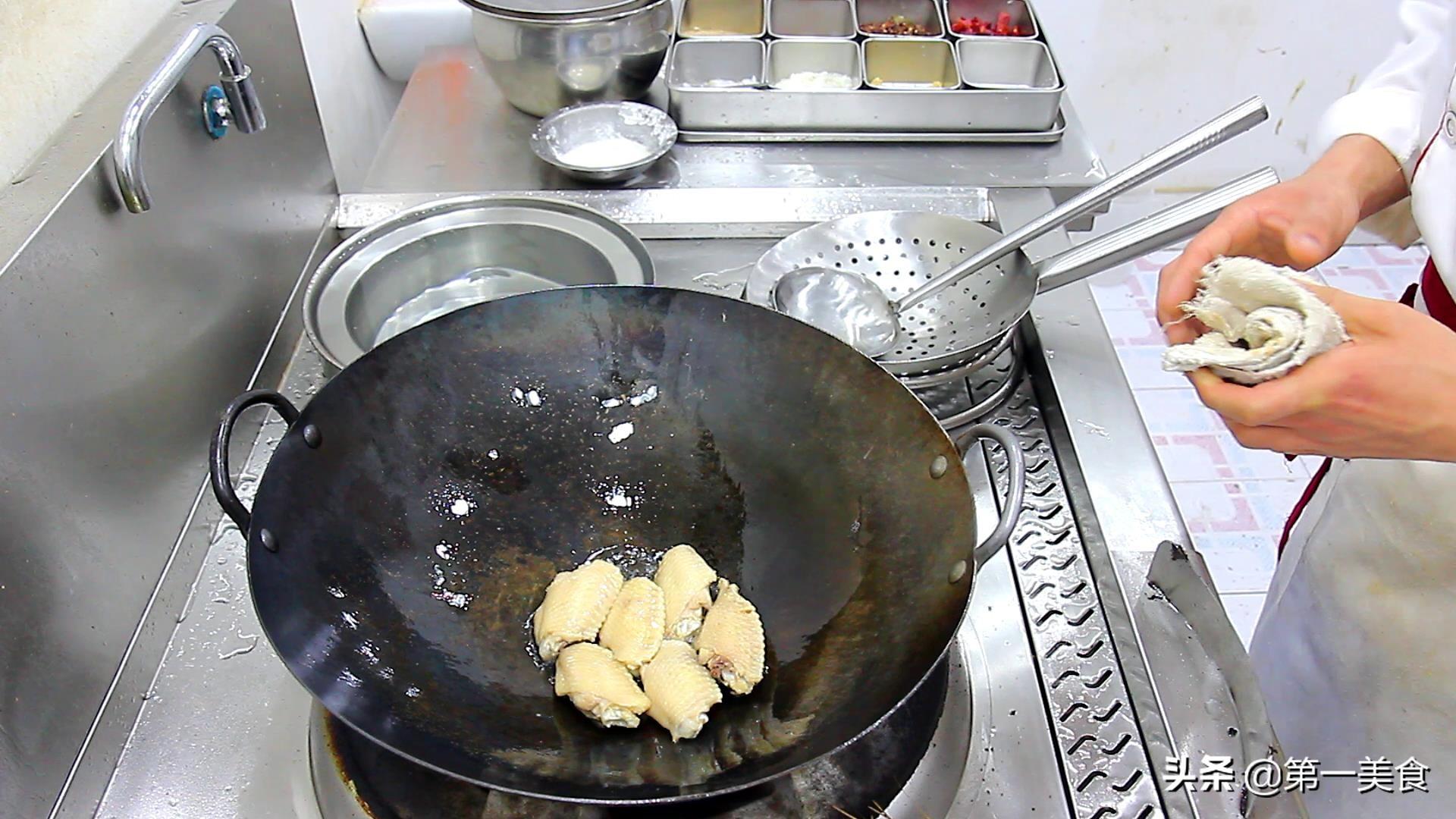 厨师长教你做可乐鸡翅家常做法,做法步骤讲解清晰,味道超好