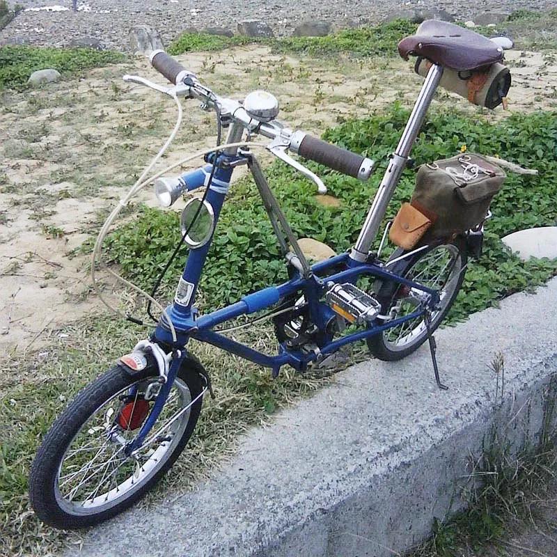 儿时 · 记忆中的「老貂DAHON III 」折叠车