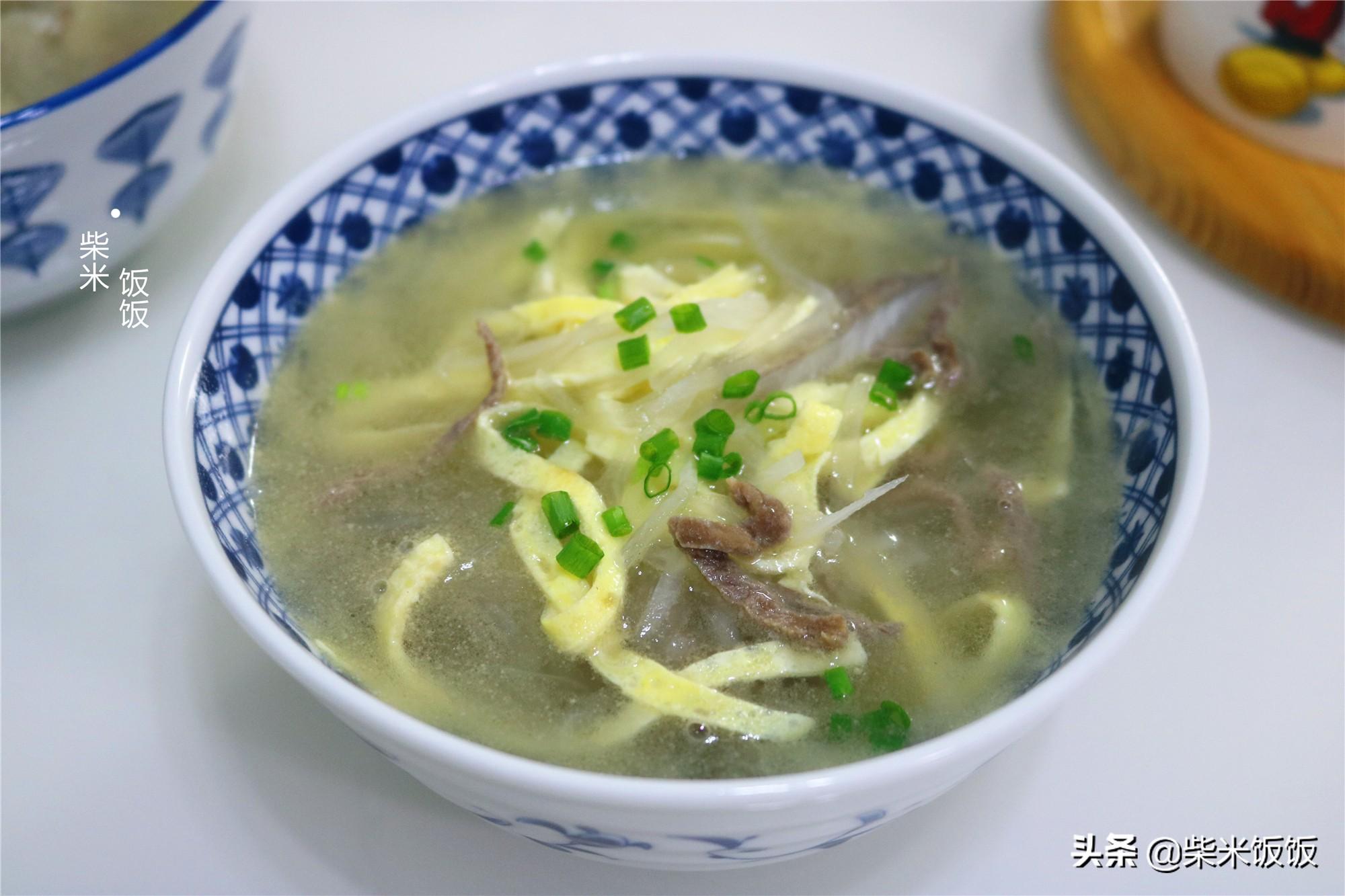 深秋十月,多喝这碗汤,3种食材搭配,营养补水,太鲜了