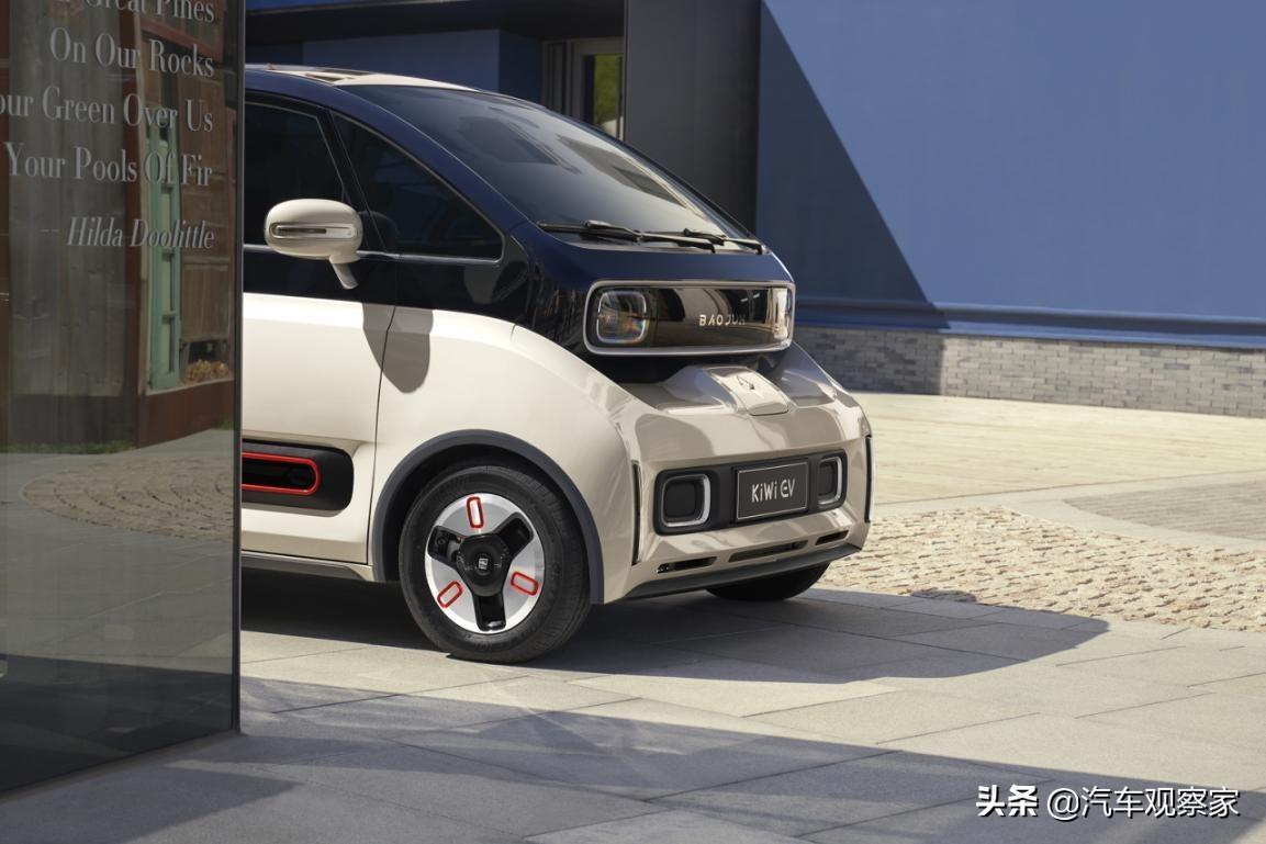 车界时尚新单品 宝骏KiWi EV刷新你对纯电车型的认知