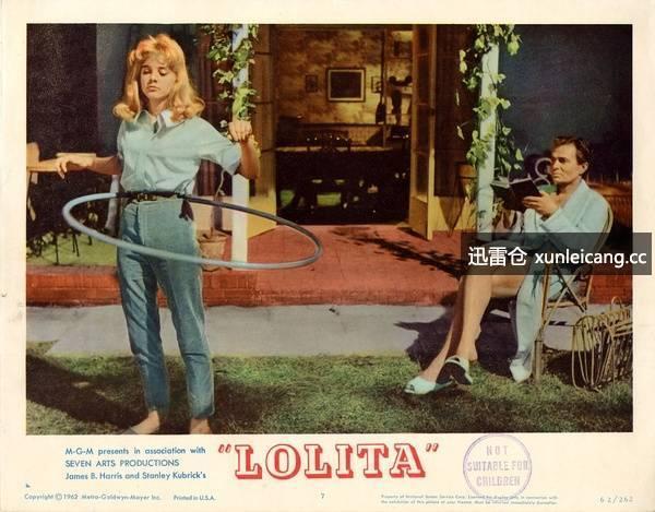 洛丽塔 Lolita精彩剧照海报
