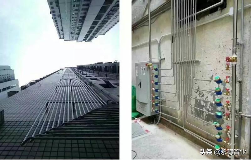 永穗管业品牌薄壁不锈钢水管工程案例