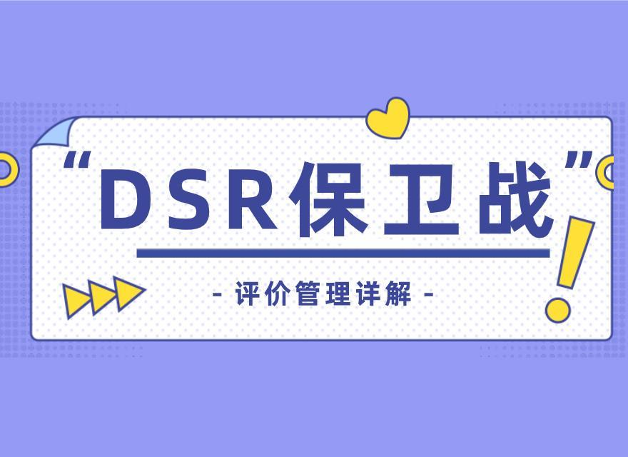 dsr是什么意思(拼多多dsr怎么刷回来)插图